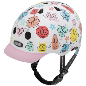 Nutcase Little Nutty Street Casco de bicicleta Niños, owl party